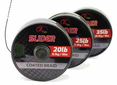 ZFISH ŠNÚRKA SLIDER COATED BRAID 10M